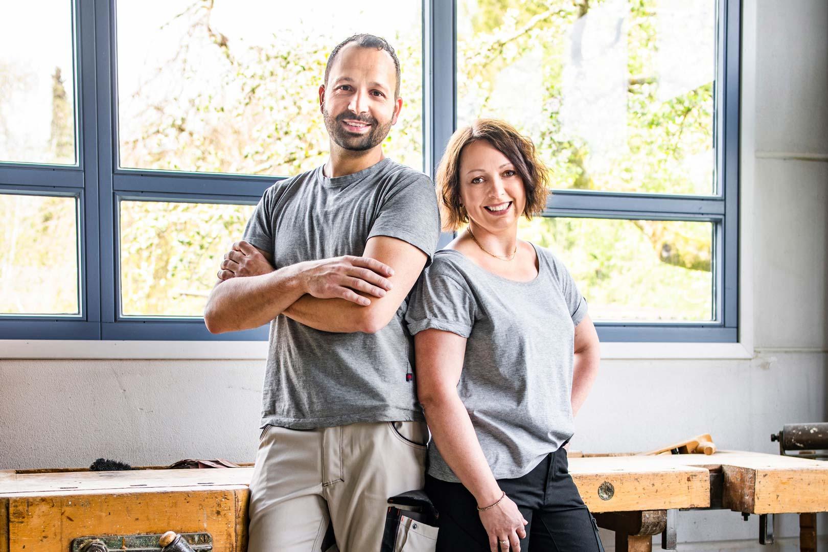 A-Team: Matthias und Melanie Anliker.